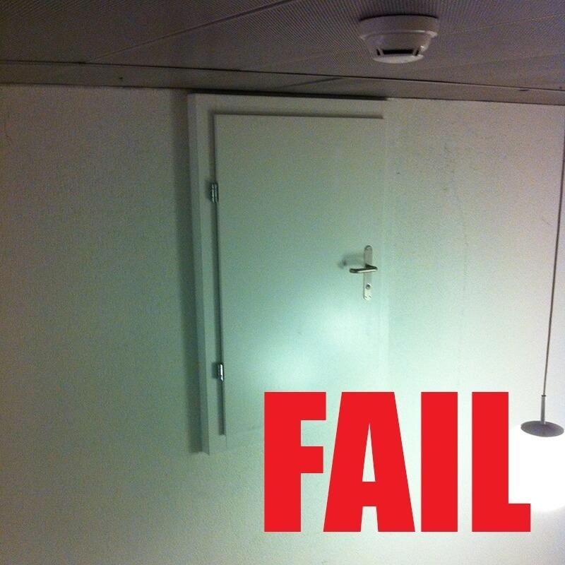 Door to Nowhere FAIL