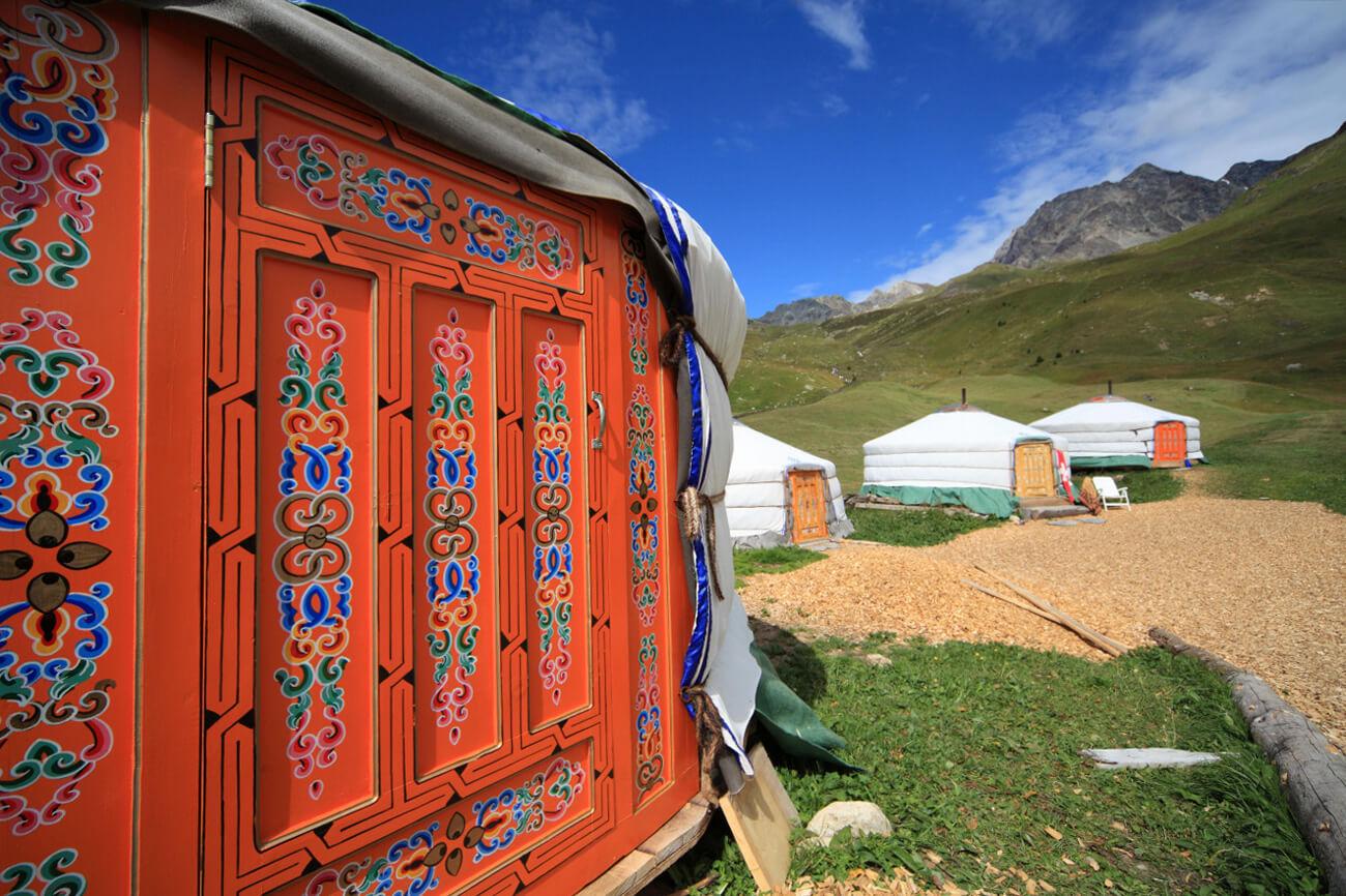 Mongolian Yurt - Alp Flix