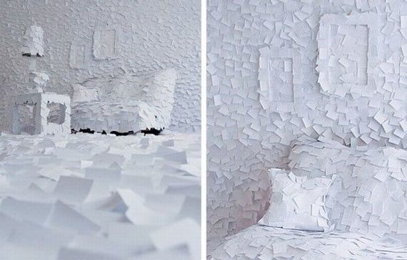 Paper Art by Adrian Merz