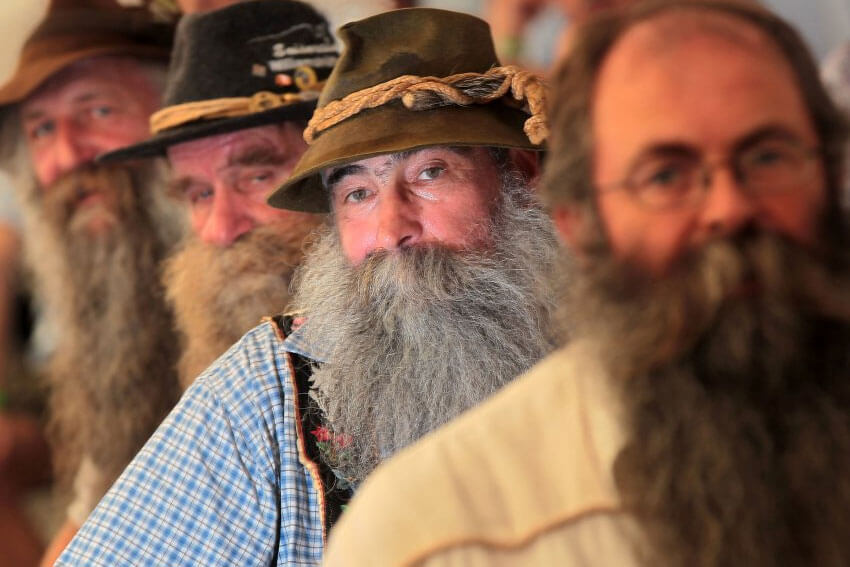 Alpine Beard Festival (Copyright Getty Images)