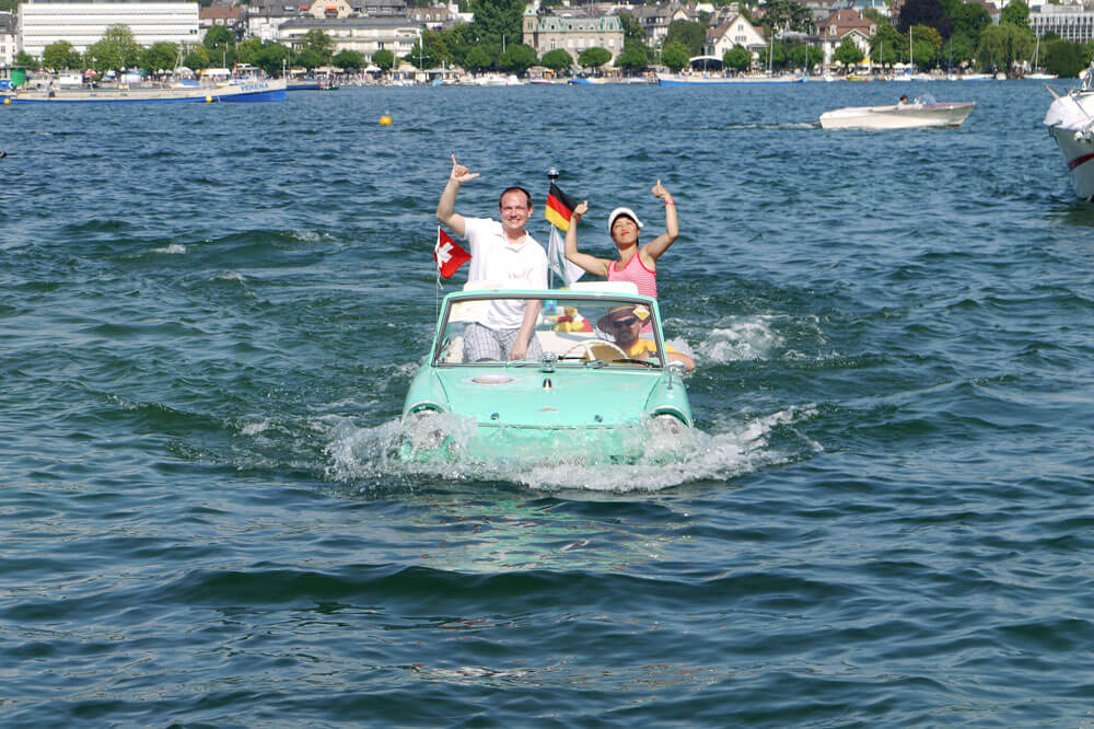 Annual Swiss Amphibious Car Meet