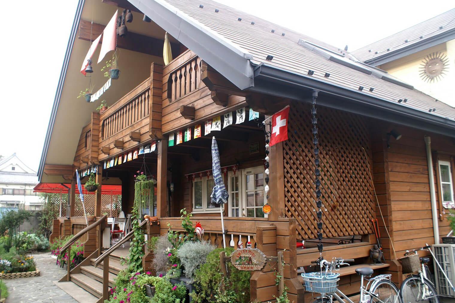 Swiss Chalet Mini Nippori Tokyo