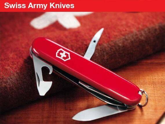 Swiss Souvenirs Swiss Army Knives