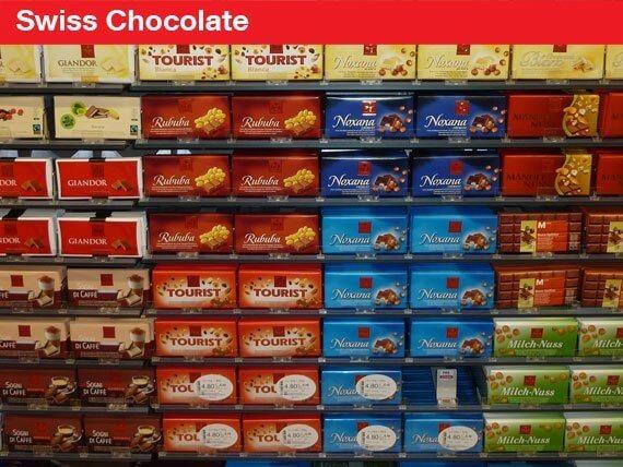 Swiss Souvenirs Swiss Chocolate
