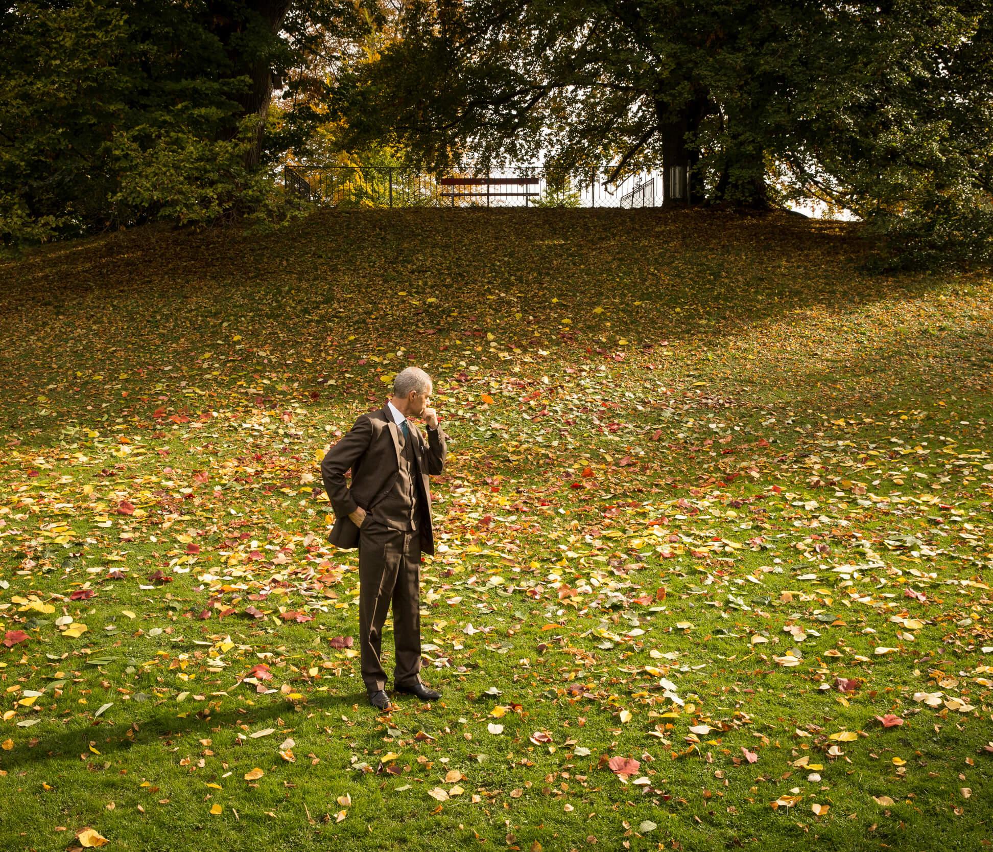 Ursus Wehrli - Autumn Leaves at Museum Rietberg