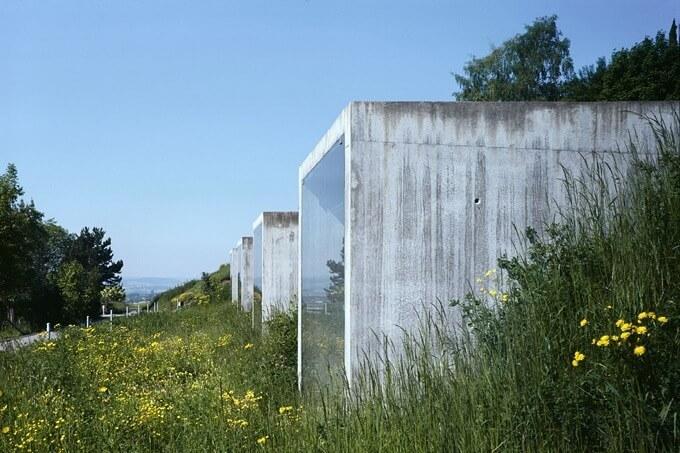 Modern Swiss Parking Garage by Kunz Architektur