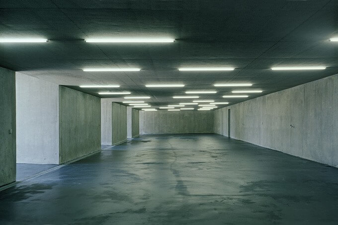 Modern Swiss Parking Garage by Kunz Architektur
