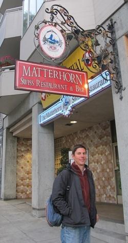 SFO Restaurant Matterhorn