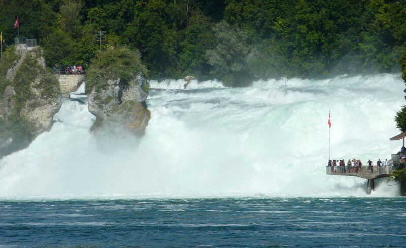 What to see in Switzerland - Rhine Falls