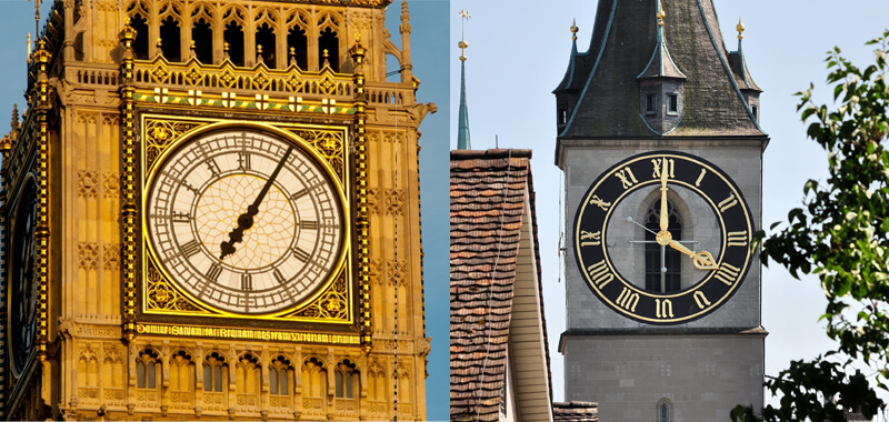 Facts you didn't know Switzerland - Largest Clock Face