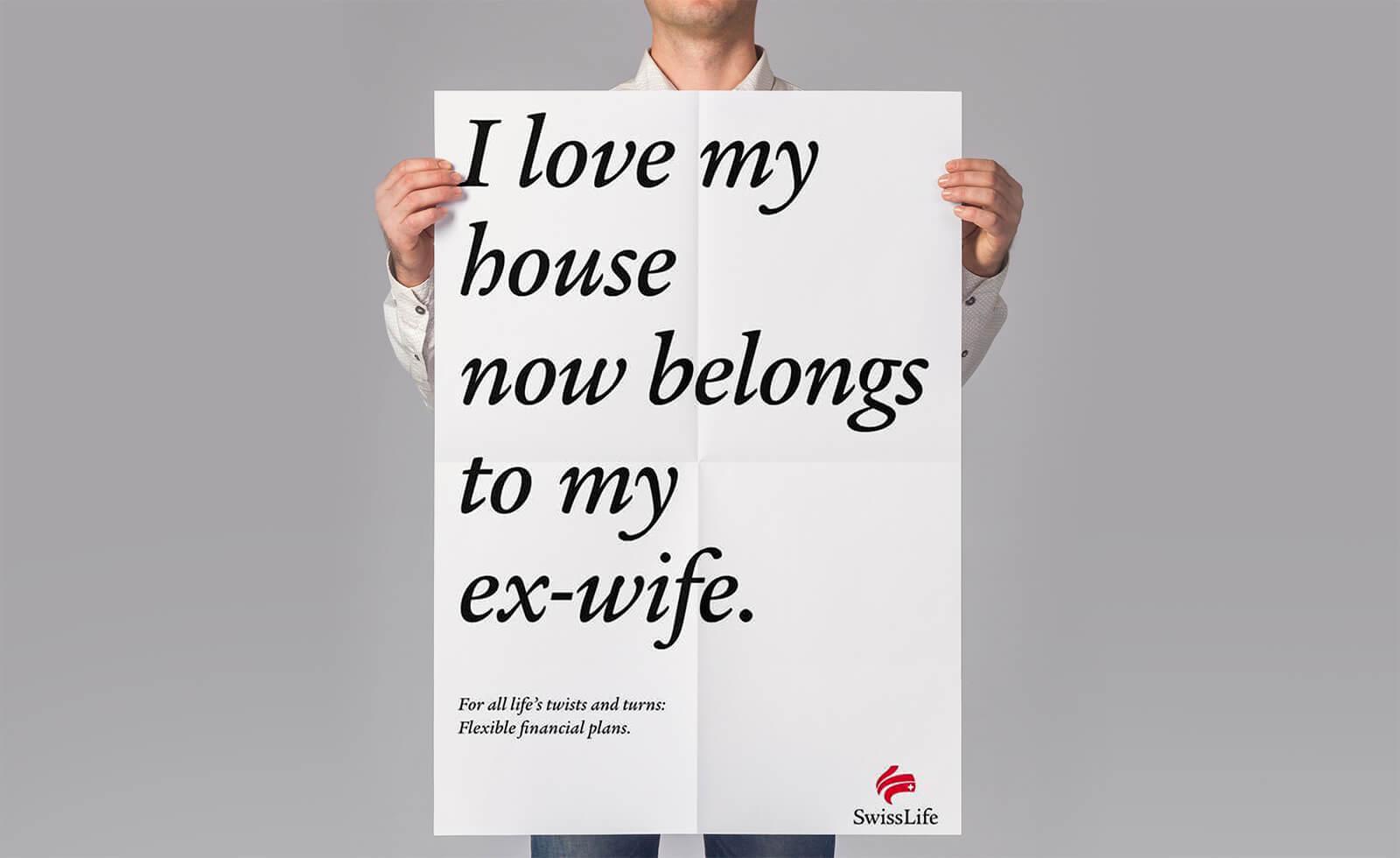 Swisslife Ad Wordplay