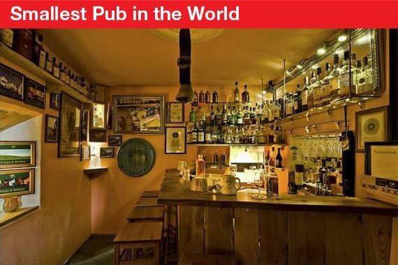 Swiss Records - Smallest Pub in the World