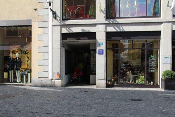 Zurich's Oldest Bathhouse