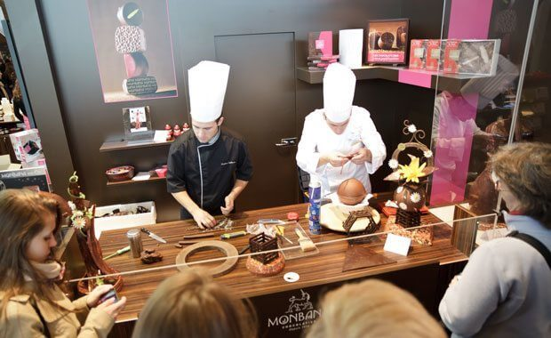 Salon du Chocolat Degustation