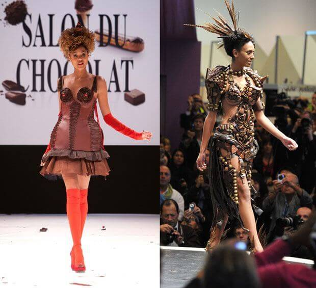 Salon du Chocolat Fashion Show