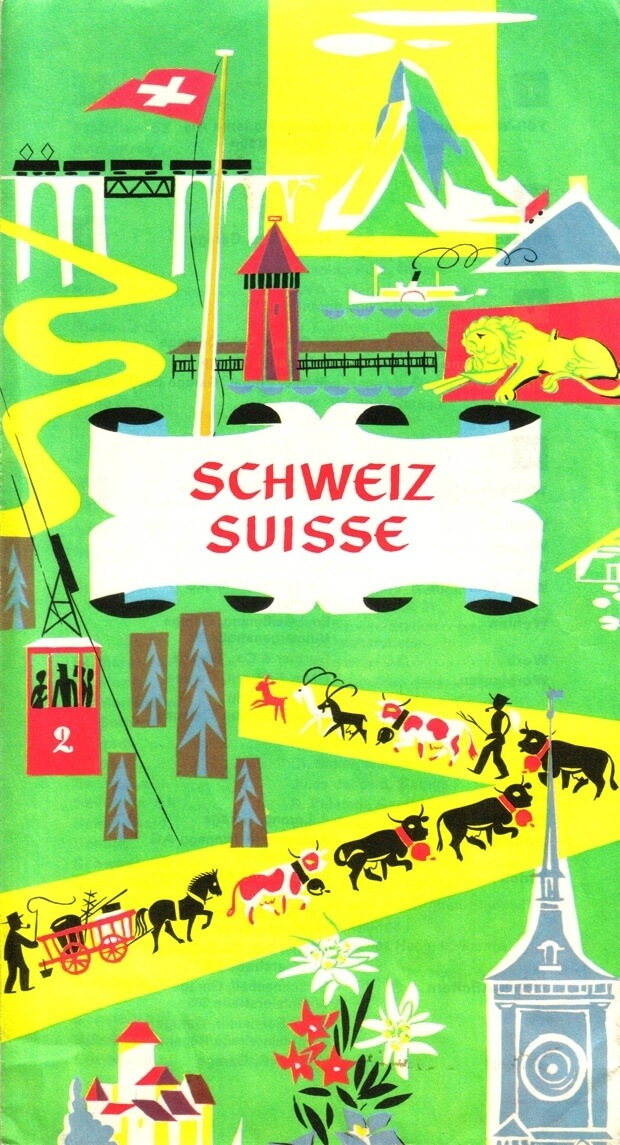 Vintage Switzerland Brochure
