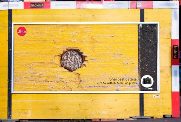 Leica - Sharpest Details Ad Campaign