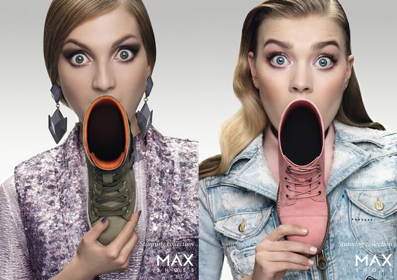 MAX Shoes Advertisements