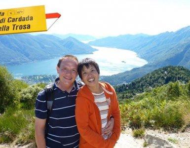 Hiking to Cimetta, Ticino