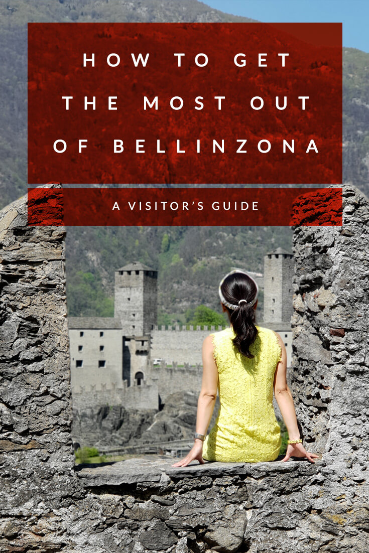 A visitor's guide to get the most out of Bellinzona in Ticino #Switzerland