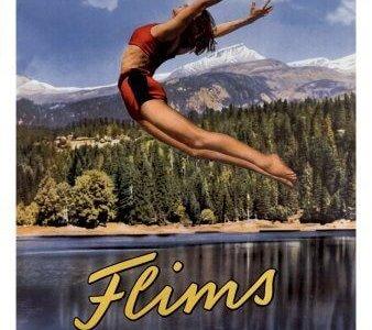 Flims - Vintage Tourism Poster