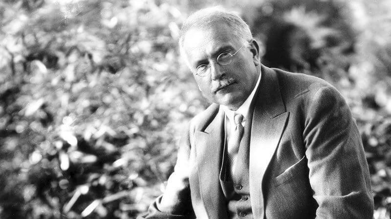 Carl Gustav Jung in Switzerland