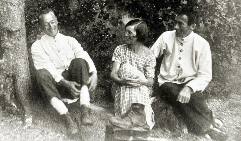Dada - Emmy Hennings and Hugo Ball (Copyright: DLA)