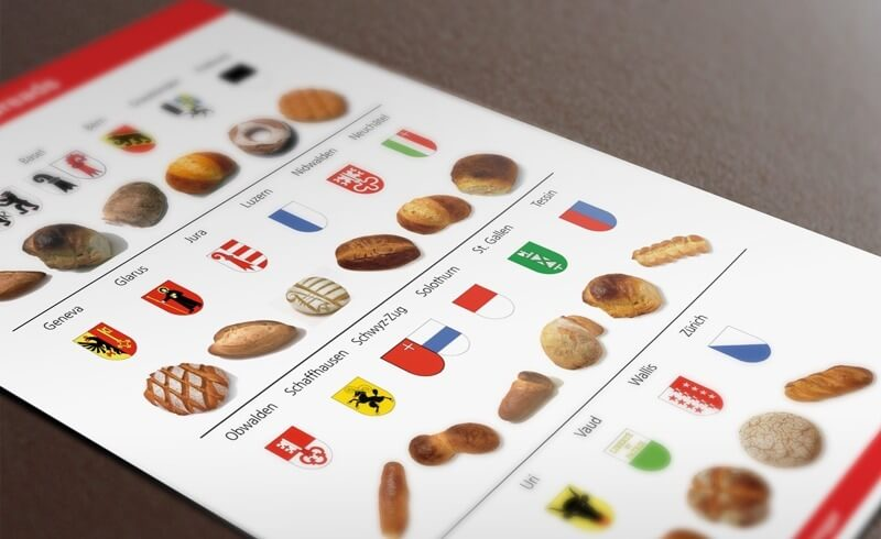 Swiss Bread Chart