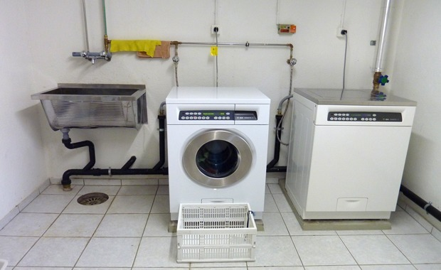 Swiss Shared Laundry Room System