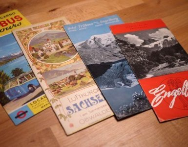 Vintage Swiss Travel Guides