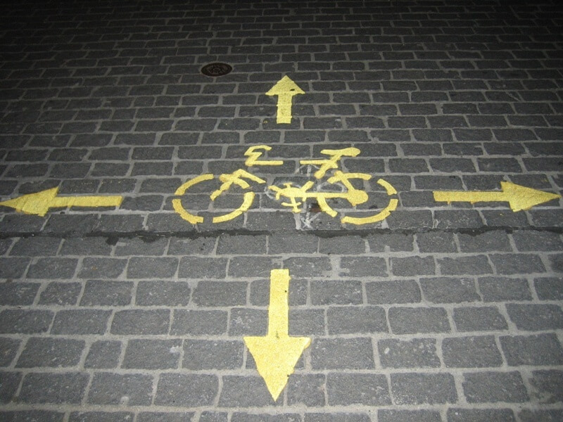 Bicycle Directions - Copyright by schoschi