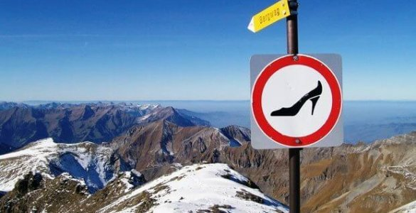 Schilthorn - No Heels Allowed