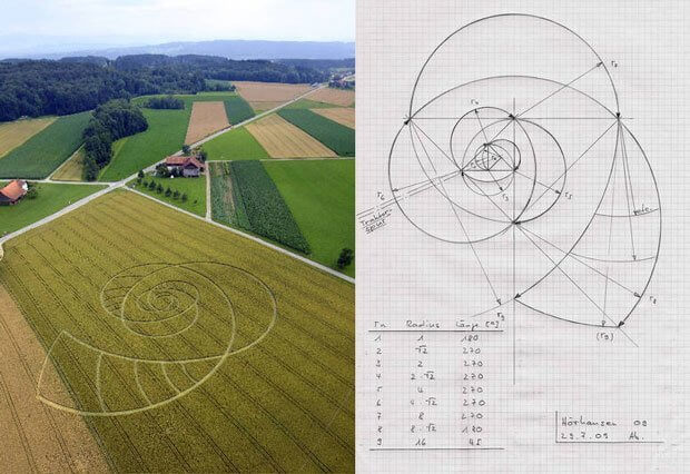 Swiss Crop Circles Deconstructed