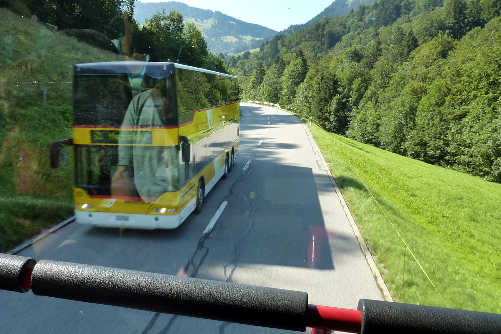 Swiss PostBus - Double deck