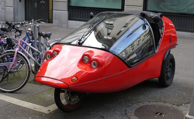 Coolest Vehicles on the Streets of Zurich