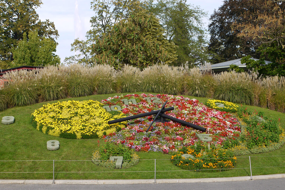 Geneva Visitor's Guide - Flower Clock