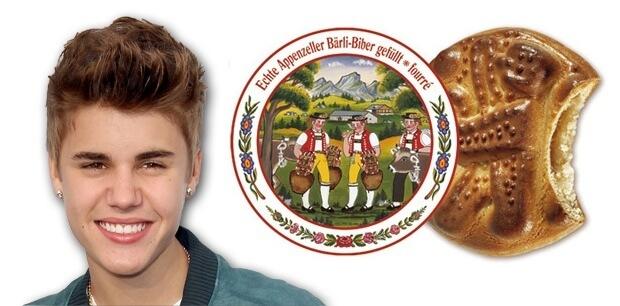 Justin Bieber vs. Appenzeller Biberli