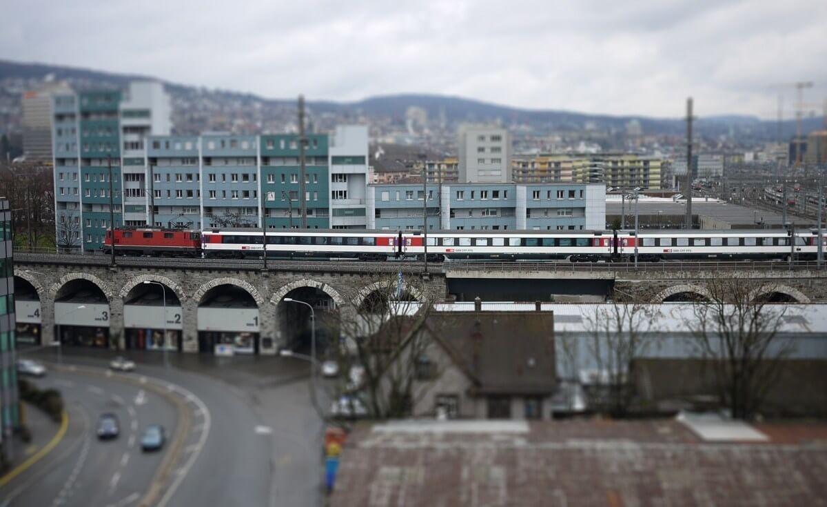Miniature Switzerland - Zürich by Dimitri