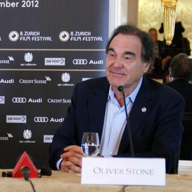 Zurich Film Festival - Oliver Stone Press Conference