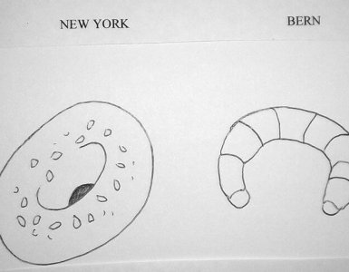 New York City vs Bern by Christoph Simon - Breakfast