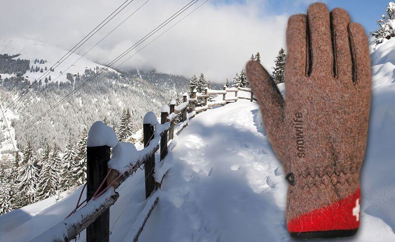 Swiss Winter Style Guide - Snowlife Gloves Switzerland