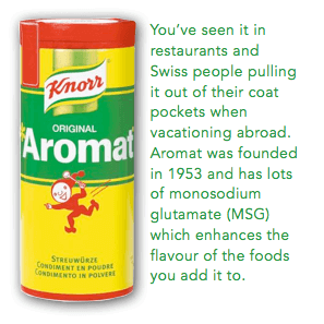 Swiss Grocery Products - Aromat