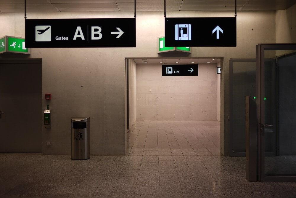 Impressions from Zurich Airport ZRH
