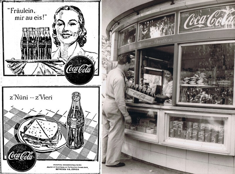 History of Coca-Cola in Switzerland