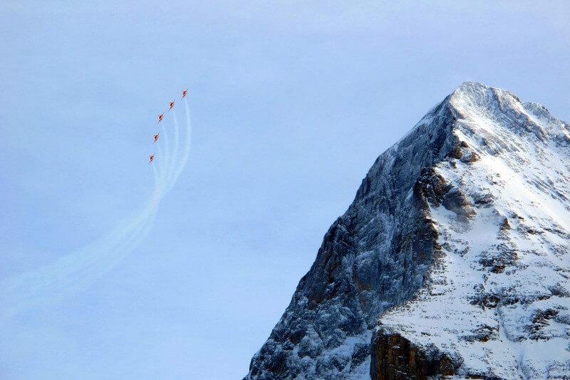 Lauterbrunnen Ski Race 2013 - Patrouille Suisse