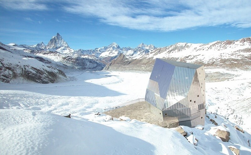 Swiss Mountain Huts - Monte Rosa