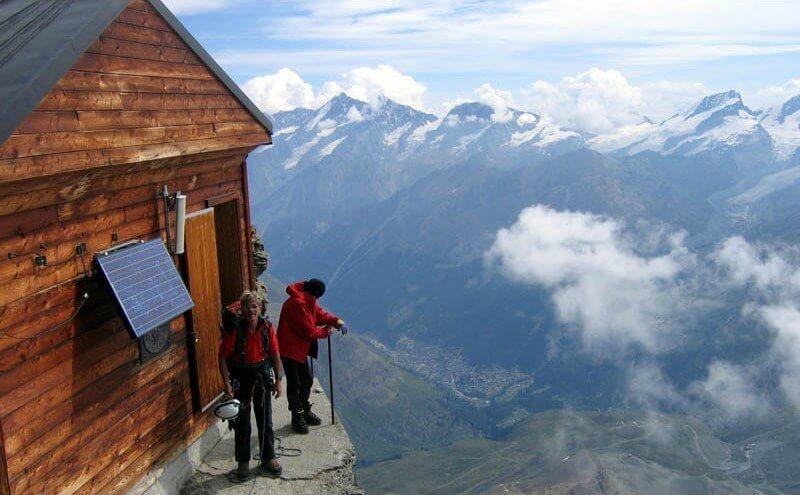 Swiss Mountain Huts - Solvay Hut