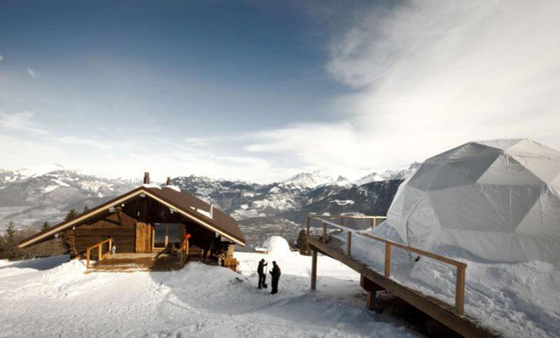 Whitepod Resort Switzerland