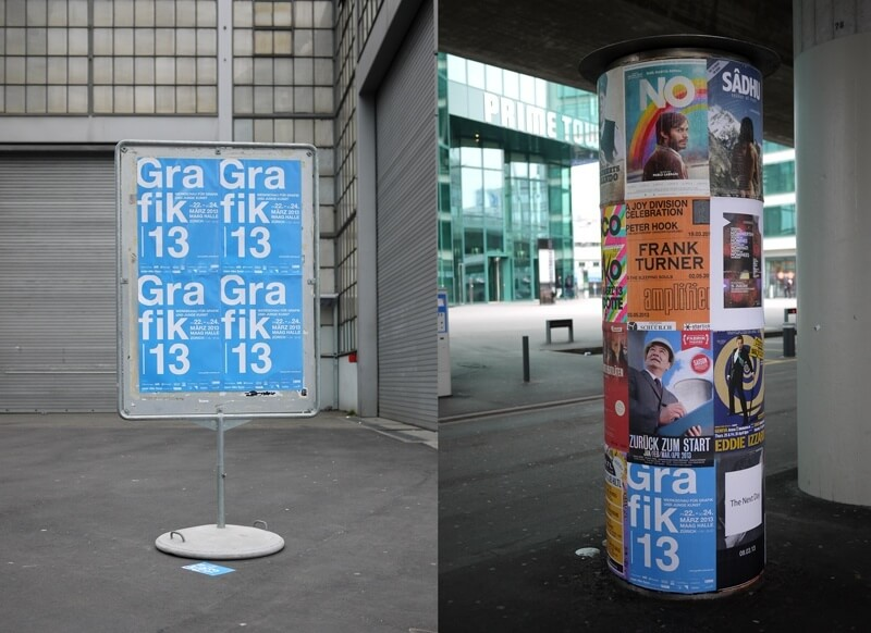 Grafik 13 in Zürich