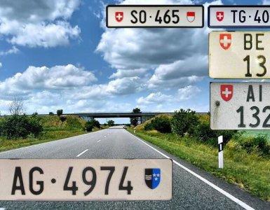 Swiss License Plates
